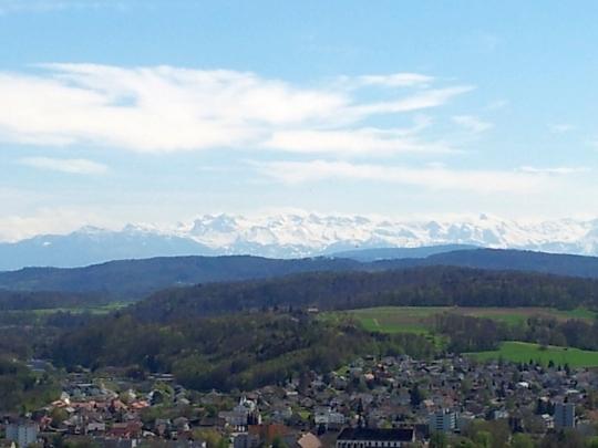 Blick vom Alpenzeiger