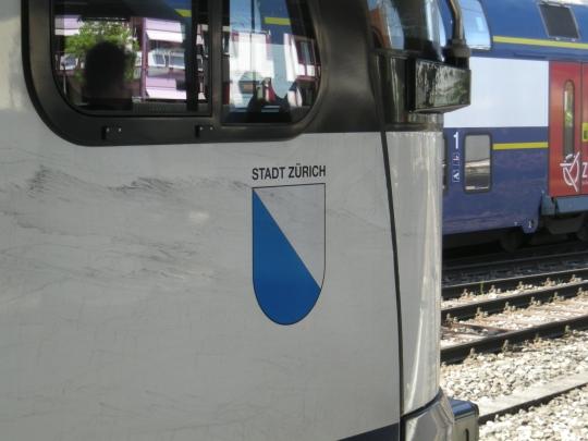S-Bahn-Lok  Stadt Zürich