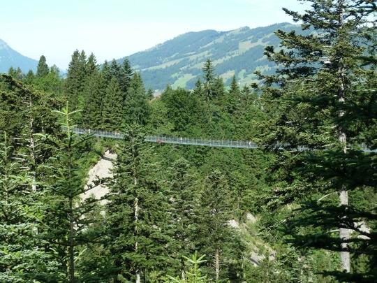 Die Hängebrücke bzw. der Skywalk; ein Knaller!