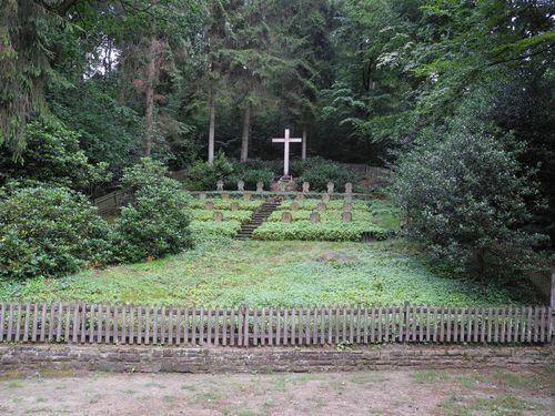 Gefallenenfriedhof im Brumleytal
