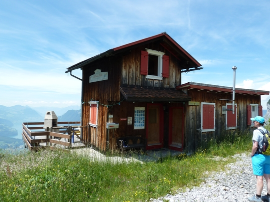 Das alte Restaurant Rotenflue.