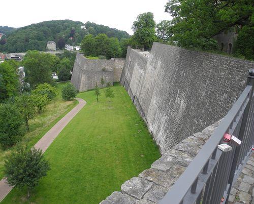 Sparrenburg - Blick auf den Scherpentiner (Festungsbauexperten wissen Bescheid).