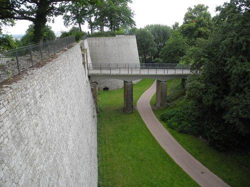 Sparrenburg mit Torbrücke und Marienrondell.