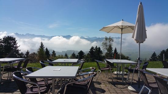 Ausblick von der Terrasse (klicken zum Vergrössern)