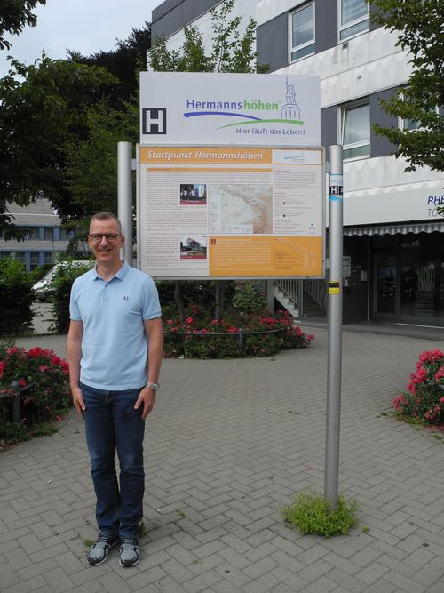 Hier startet der offizielle Hermannsweg