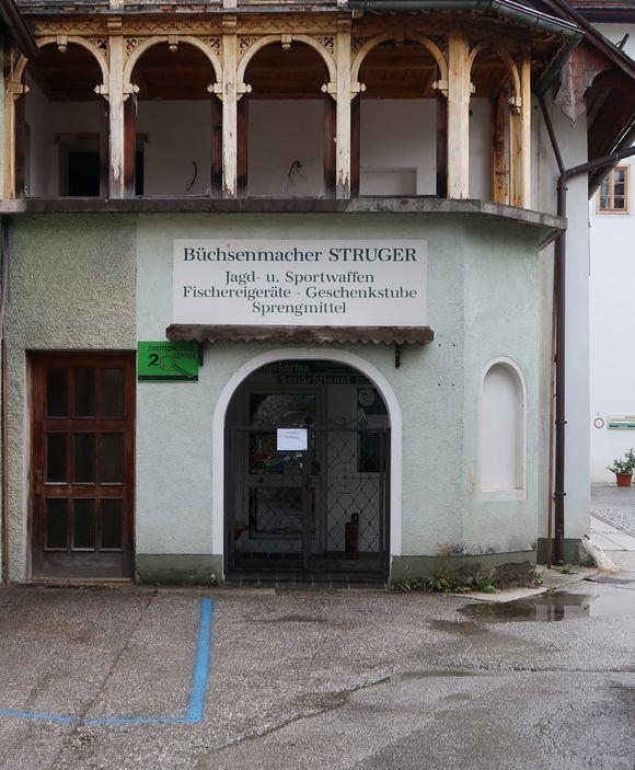 Fachgeschäft in Bad Goisern.