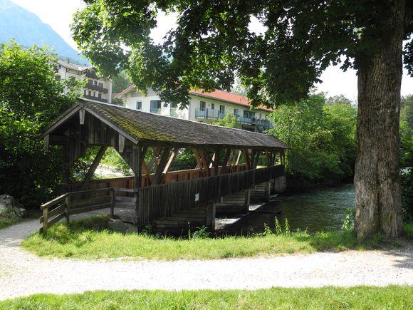 Triftstegbrücke.