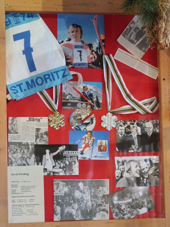 David Zwilling; St. Moritz, WM 1974.