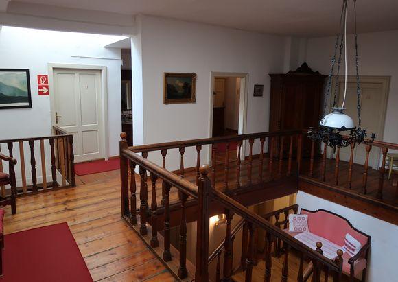 Im Gasthaus Simony.